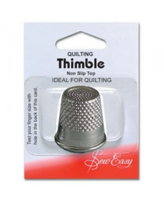 Flat top thimble