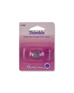 Small Metal Sewing Thimble 16mm