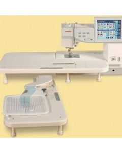 Janome Mc11000 Clothsetter And Extension Table 27 X 14 Inch
