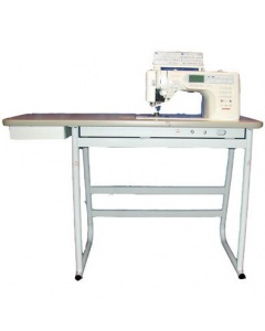 White Table Stand For Janome 1600p, 6600p
