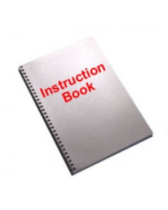 Brother M9800LD Overlock Instruction Book