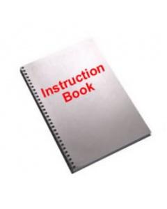Pfaff 580 Roller Ironer Instruction Book