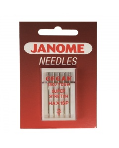 Janome super stretch needles