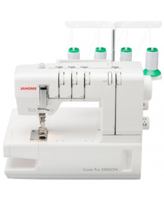 Janome CoverPro 2000CPX for Cover hem stitching