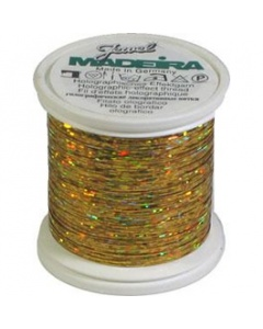 Madeira Jewel Holographic Thread Gold
