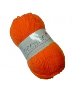 King Cole DK 100g Pricewise Wool Bright Orange