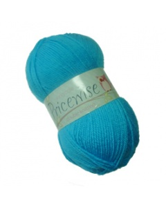 King Cole DK 100g Pricewise Wool Light Blue