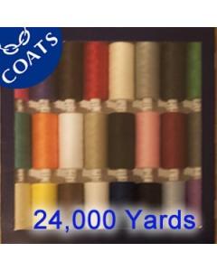 coats polyester moon bold 24 set