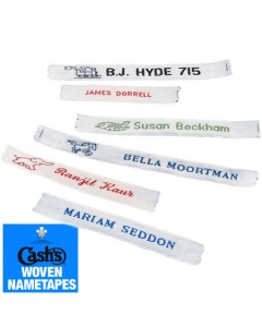 Cashs Name Tapes made to order