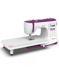 Necchi NC-204D with wide extension table fitted