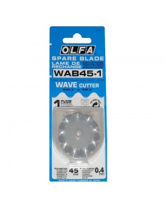 Olfa Spare Blade 45mm Wave Cutter