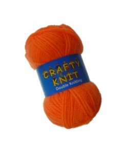 Loweth DK 25g Orange Crafty Knit  in Orange