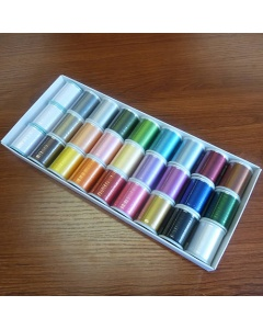 27 Colours Janome embroidery thread