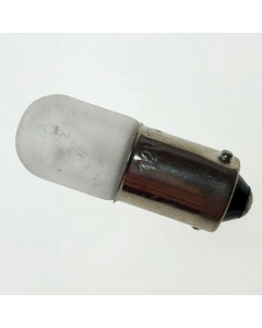 Frosted bayonet bulb for a Pfaff 2000 series