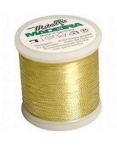 Madeira Metallic Thread 1000m Gold 6