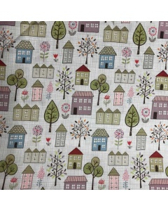 Pretty Houses and Nature Fabric
