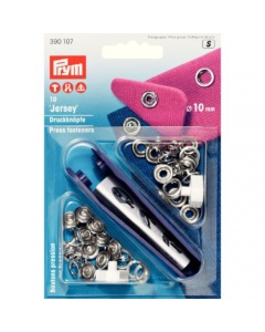 Prym Nonsew press fasteners Silver