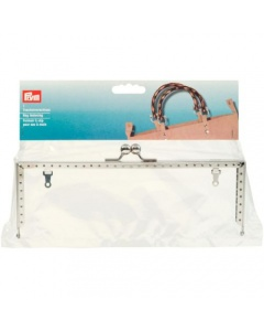 Prym Bag Fastening Lucia Silver Coloured