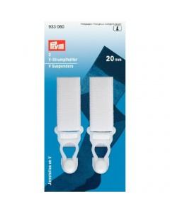 Prym V Suspenders white 20mm