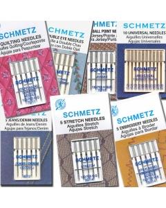 Schmetz Sewing Machine Needles Various Types