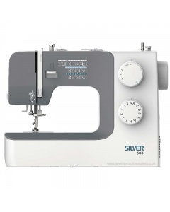 Silver 303 sewing machine in a lightweight model