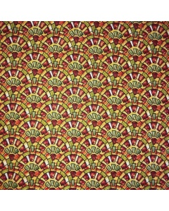 Stain Glass Window Patterned Fabric