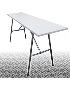 Fold away knitting table