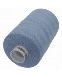 Moon Polyester Overlocking Thread 1000m Blue