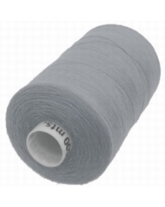 Moon Polyester Overlocking Thread 1000m Grey