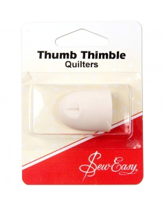 Thumb thimble for quilters