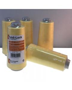 Lemon Yellow Overlocking thread by Gutermann Toldi-Lock 2500M cone