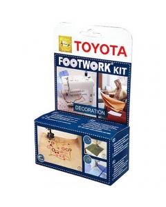 Toyota Footwork Decoration