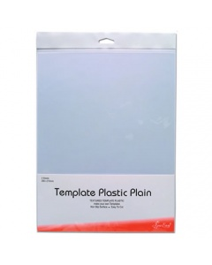 2 Sheets Clear Plastic Template