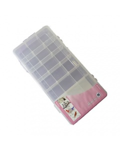 Medium Size Plastic Storage Box With 21 Compartments