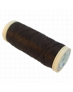 Seta Reale Pure Silk Thread Very Dark Brown 024