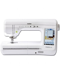 The Innovis VQ2 has a huge working area to sew on
