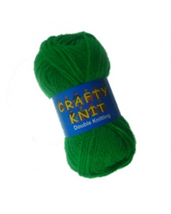 Loweth DK 25g Blue Crafty Knit  in Green