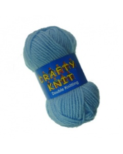 Loweth DK 25g Light Blue Crafty Knit  in Light Blue