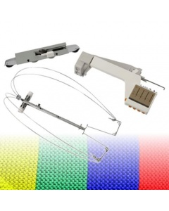 Silver reed colour changer