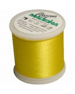 Madeira Machine Embroidery Rayon Thread - 068 Yellow
