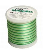 Madeira Variegated Rayon Thread 200m - 2031 Bright Greens