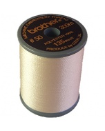 Brother satin finish embroidery thread. 300m spool LINEN 307