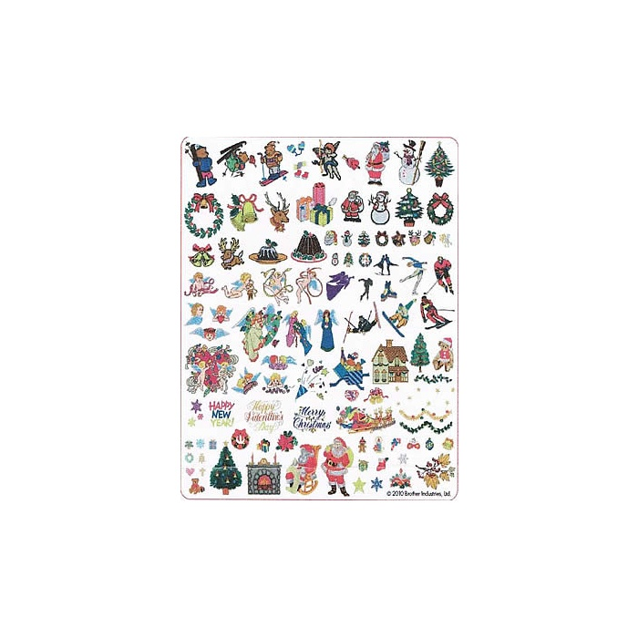 MACHINE EMBROIDERY DESIGNS ON CD OR USB CHRISTMAS MEMORIES COLLECTION