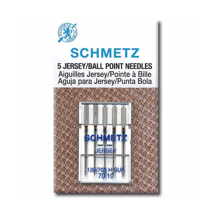 SCHMETZ 130//705H-SUK Jersey Ball Point Home Sewing Machine Needles 5 Pack