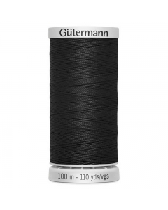 Gutermann Extra Strong Thread (000) Black 100m