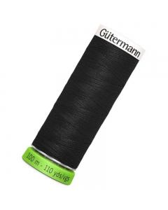 Gutermann rPET Sew All Thread 100m Black (000)