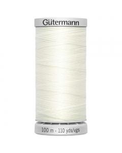 Gutermann Extra Strong Thread (111) Bridal White 100m
