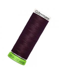 Gutermann rPET Sew All Thread 100m Garnet (130)