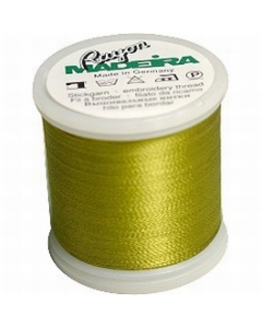 Madeira Machine Embroidery Rayon 200m Thread - 1190 Gold Green