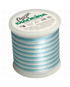 Madeira Variegated Rayon Thread 200m - 2025 Teal Blue